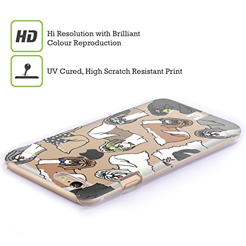 Head Case Designs Labrador Retriever Hunderasse Muster 2 Ruckseite Hülle für Apple iPhone 6 / 6s Shih Tzu