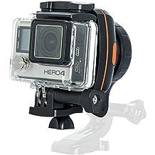 Wewow Fancy ejes Handheld Gimbal Estabilizador Cámara para como Gopro HERO 5,Hero 4, Smartphone iPhone, Samsung(Negro naranja)