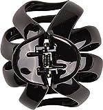 Solida Haarklammer Octopus klein, 2er Pack (2 x 1 Stück), schwarz