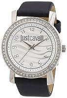 Reloj Just Cavalli R7251103501 de cuarzo para mujer con correa de piel, color negro de Just Cavalli