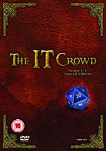 The IT Crowd - Series 1-4 Special Edition Box Set [DVD]