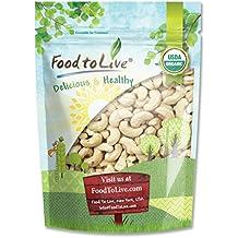 Bio Cashewnüsse durch Food to Live (Ganz, Roh) - 8 Unzen