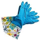 yx-8031Extra Dick Luxuriöse Thermo gefüttert oben offen Haushalt Reinigen Handschuhe, Arme Größe L–Pack von 2Paar