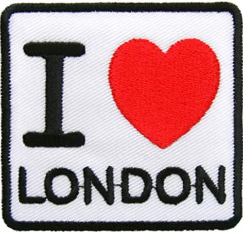 I Love parche de Londres 5 cm X 4