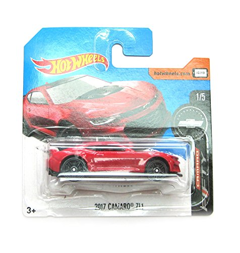 2017 Hot Wheels 50 Year Celebration 2017 Camaro ZL1 RED 220/365 (Short Card)
