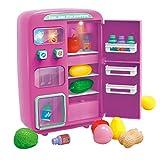 Ggoddess 32Pcs Vorgeben, Kühlschrank Spielzeug-Set, elektrische Simulation Mini-Spielzeug,...
