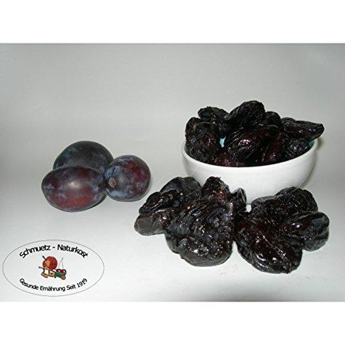 Pflaumen getrocknet ohne Stein, ungezuckert und ungeschwefelt 2500g von Schmütz-Naturkost, Trockenfrüchte