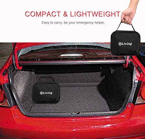 gliving kompressor auto luftpumpe mit tasche 12v mit led taschenlampe beleuchtung 10 bar. Black Bedroom Furniture Sets. Home Design Ideas