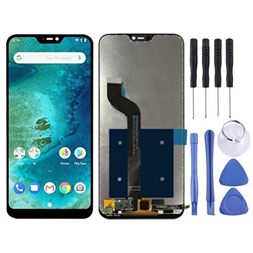 Yinghua Kit de reemplazo de Pantalla Pantalla LCD y ensamblaje Completo de digitalizador for Xiaomi Redmi 6 Pro (Mi A2 Lite) (Negro) (Color : Black)