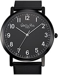Valentino Rudy Watch For Men And Women VR1089 (Dial Color Black, Band Color Black) Italian Design Watches Best...