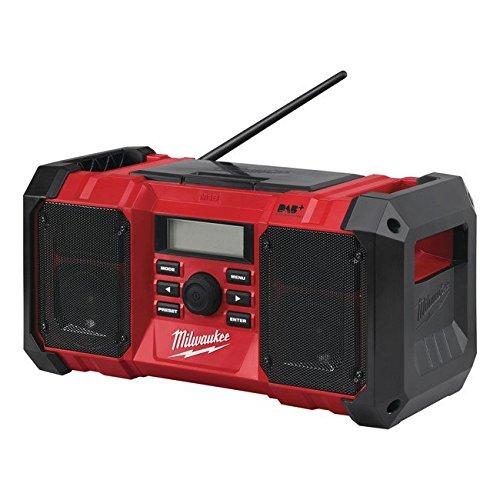 Preisvergleich Produktbild Milwaukee Akku-Netz-Radio M18JSRDAB+-0, 1 W, 18 V