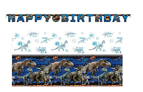 World Tischdecke und Geburtstagsbanner, 183 cm ()