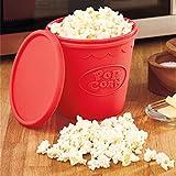 KITCHY Quality DIY Food-Grade Silicone Foldable Popcorn Bucket Microwave Pop Corn Bowl Maker Popcorn Baking Tool