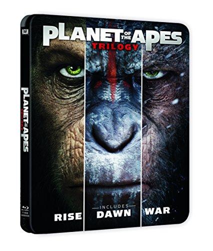 Trilogía Planeta De Los Simios Blu-Ray Steelbook [Blu-ray]