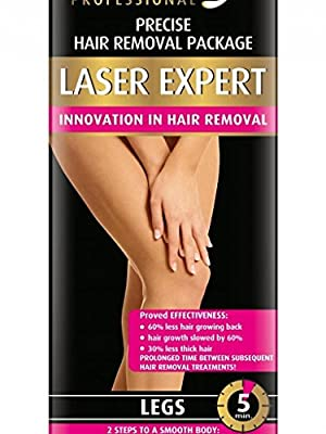 VANITY LASER EXPERT Professional & Precise 5 min Hair Removal Cream For Legs 100ml by Bielenda