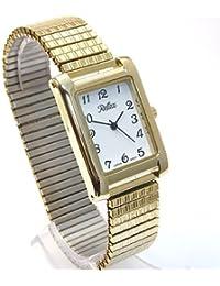 Ladies Gold Expanding Bracelet Watch by Reflex (102300lx)