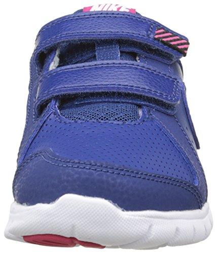 Nike Flex Experience, Running Fille Bleu (Insignia Blue/Vivid Pink/White 401)