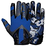 Prostyle Sniper American Football Receiver Handschuhe - royal Gr. L