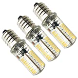ZEEFO Ampoules E14 LED économiser l'énergie réglable Lot de 3 ,72X4014 SMD 4W 360LM Blanc chaud Lumière 3000K, E14 Ampoule à Culot pour les lustres