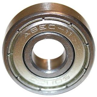 Roulements ABEC 7 - Speed Bearings 8x 608 ZZ - Roulements à billes de qualité pour Roller, Skateboard, Longboard, Waveboard par Ambideluxe