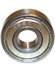 Roulements ABEC 7 - Speed Bearings 8x 608 ZZ – Roulements à billes de qualité pour Roller, Skateboard, Longboard, Waveboard par Ambideluxe