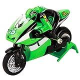 RC Moto à Télécommande Véhicule Motorisé Électrique à Grande Vitesse Jouet Enfant Cadeau Idéal pour Garçon Fille à Partir de 3 Ans - Vert...