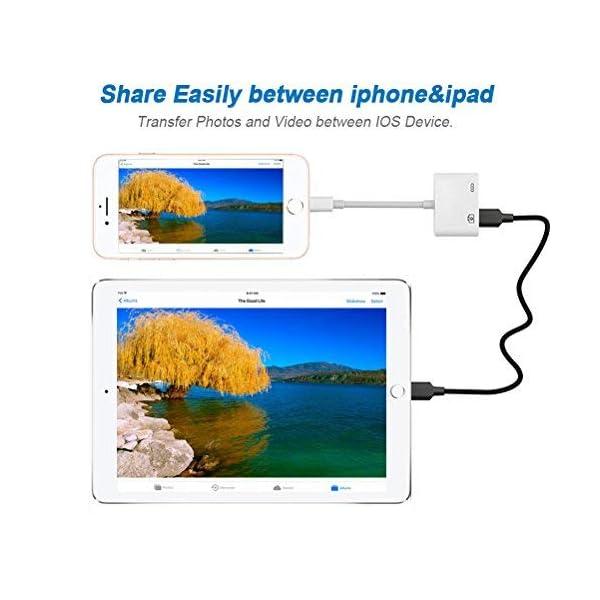USB 3.0 hembra OTG con interfaz de alimentaci/ón USB cable de carga de sincronizaci/ón de datos para Phone Pad Cable adaptador USB para c/ámara