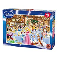 King KNG05178 Disney Characters Jigsaw Puzzles - 99 Pieces (A - Tea Party)