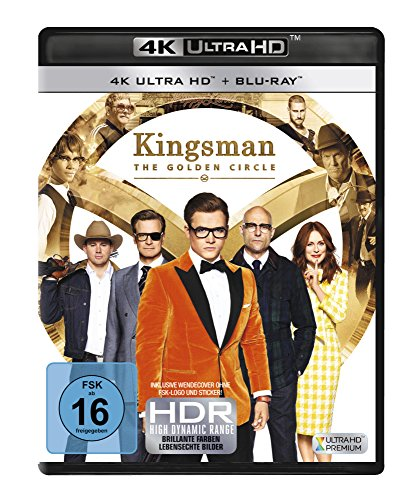 Kingsman - The Golden Circle (4K Ultra HD) [Blu-ray]