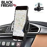 Auto Handyhalterung Kratzschutz 360°Drehbarem Gelenk IZUKU Handy Halterung Auto Lüftung Universal Kompatibel für iPhone8/7/6 Samsung Smartphone mit Einer Breite von 5,3cm-9,5cm