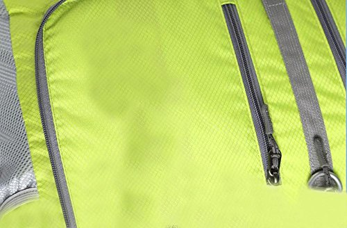 HTRPF Männer und Frauen Falten wasserdichte Damen Sport Outdoor Handtasche SShoulder Tasche rose red