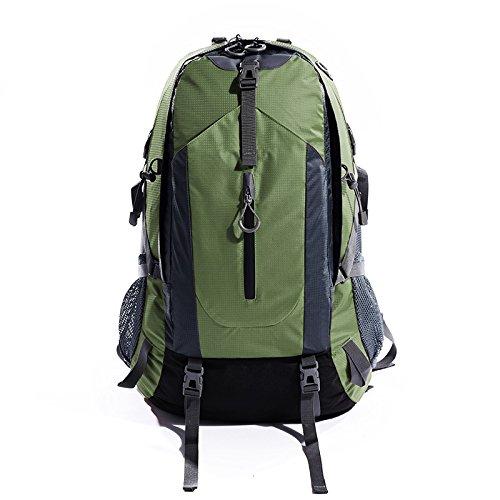 GOUQIN Outdoor Rucksack Klassische Mode Outdoor Klettern Taschen Wasserdicht 50 L Schultern Tragen Zu Fuß Auf Das Paket Rucksack Grün