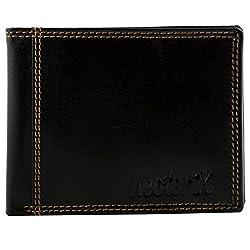Neoterix Black Genuine Leather Wallet