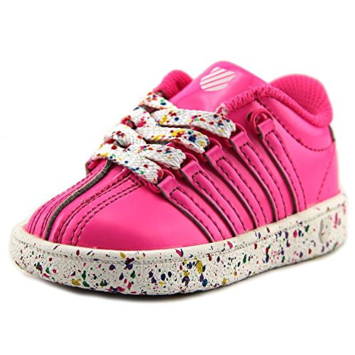 K-Swiss Classic VN Lackleder Turnschuhe Neon Pink Sprinkles