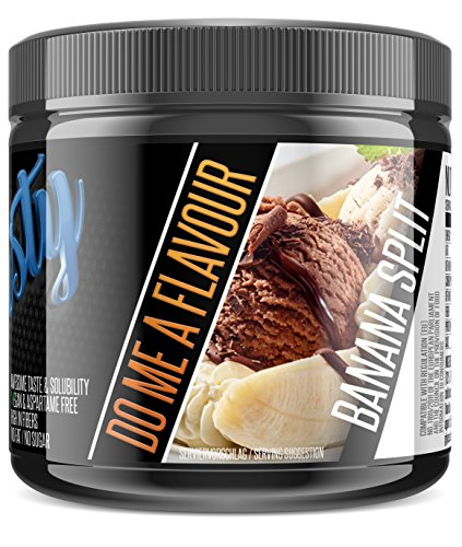Vanilla Creme Cookies (BlackLine 2.0 - Flasty's Geschmackspulver. Kalorienarmes Lebensmittelaroma. Flavor Pulver Aspartamfrei und Laktosefrei. 1 x 250g (Banana Split))
