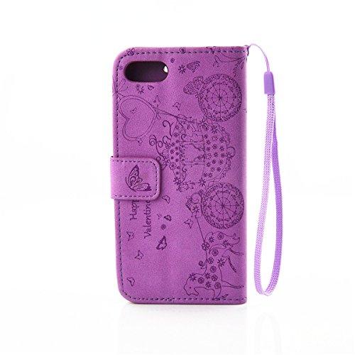 "ANNNWZZD Apple iPhone 7 Plus 5.5"" Wallet Tasche Hülle - Ledertasche im Bookstyle - [Ultra Slim][Card Slot] Handyhülle Flip Wallet Case Etui für Apple iPhone 7 Plus 5.5"",A01 A03"