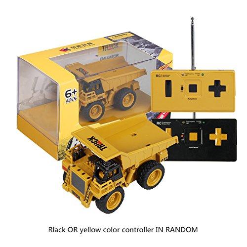 RC Auto kaufen Baufahrzeug Bild 2: Mecotech RC Auto Mini Ferngesteuerte Autos 1:64 Skala RC LKW Gabelstapler Ferngesteuert Baufahrzeuge Spielzeug für Kinder ab 6 Jahren*