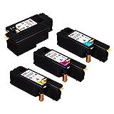 FDC Cartouches de toner compatibles avec imprimantes couleur multifonctions...