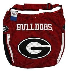 NCAA Georgia Bulldogs Ladies Athletic Mesh Purse