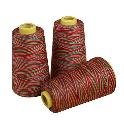 Healifty Polyester-Nähgarn-Stickgarn für Stick- und Nähmaschinen