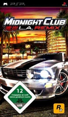 Rennspiele Psp (Midnight Club: LA Remix [Platinum])