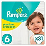 Pampers Premium Protection couches Taille 6 essentielle Lot 31