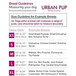 "UrbanPup Jet Black Soft Harness (X-Small - Dog Chest Circumference: 10"" / 25cm) 16"