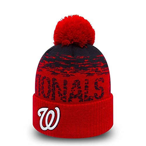 New Era MLB Sport Strick Washington Nationals Bobble Beanie Mütze - O/S