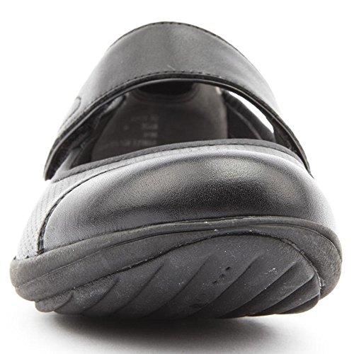 Clarks Mainline Indigo Charm Black Womens Shoes Noir