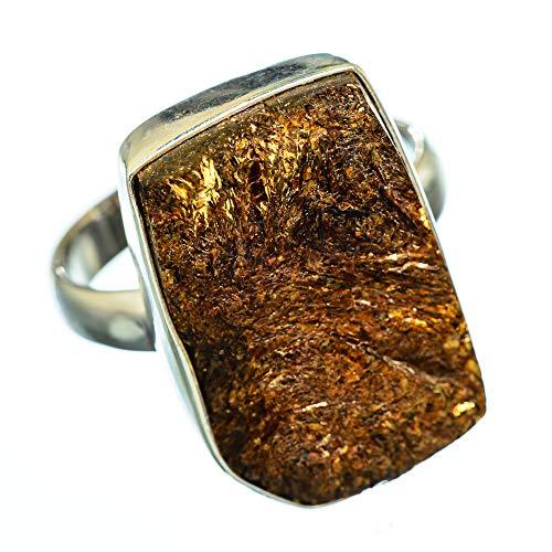 Astrophyllite, Astrophyllit 925 Sterling Silber Ring 9