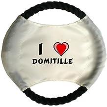 Frisbee personnalisé pour chien avec nom: Domitille (Noms/Prénoms)