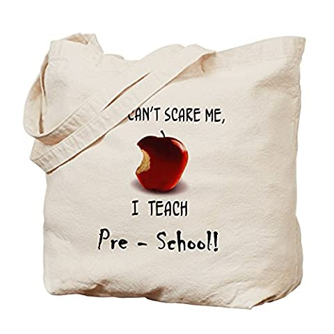 CafePress no scare pre-school teacher Tote Bag - Standard Multi-color by CafePress