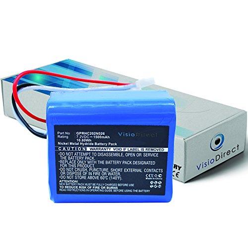 batterie-pour-irobot-mint-plus-5200c-nettoyeur-de-sols-1500mah-72v-visiodirect-