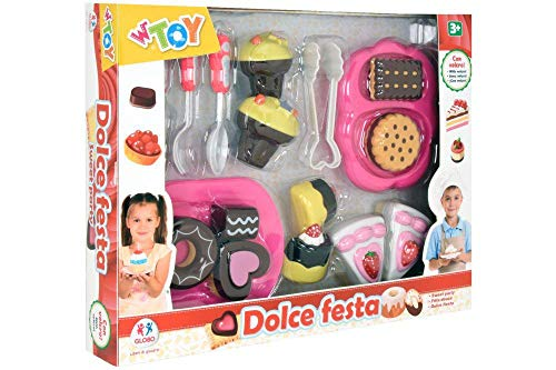 GLOBO- Cake Playset with Velcro (38962), (1)